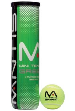 Loptičky MINI TENNIS GREEN BALLS