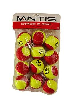 Loptičky MANTIS MINI TENNIS STAGE 3 RED
