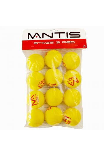 Loptičky MANTIS MINI TENNIS FOAM STAGE 3